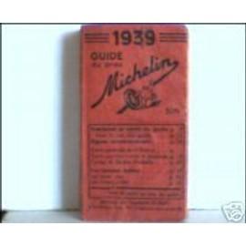 Guide Michelin 1939 de MICHELIN