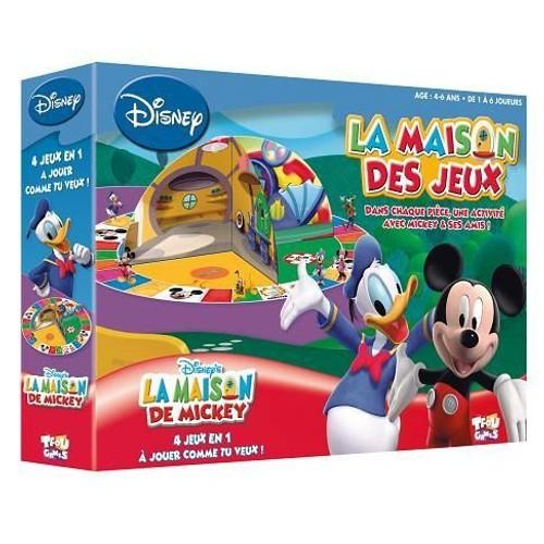 mickey la maison des jeux de mickey achat et vente