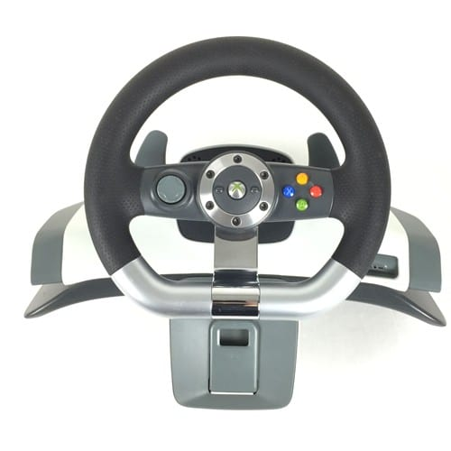 microsoft xbox 360 wireless racing wheel ensemble volant et p dales sans fil pour. Black Bedroom Furniture Sets. Home Design Ideas