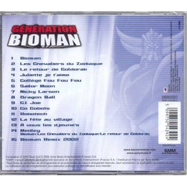 Génération Bioman Bernard Minet: CD Album