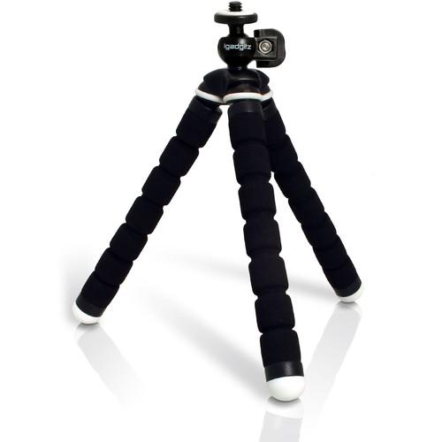 a30e0939d9ad76 igadgitz Mini Trépied de Table Flexible Léger Petite Taille Universel pour  Appareil Photo Reflex DSLR SLR - Noir