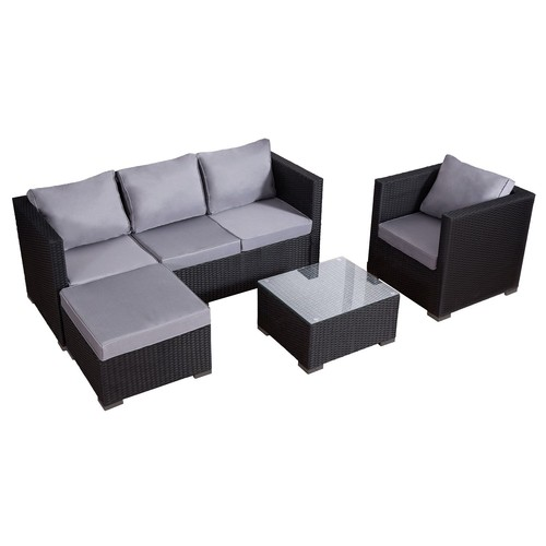 mobilier salon jardin resine gris pas cher ou d\'occasion sur Rakuten