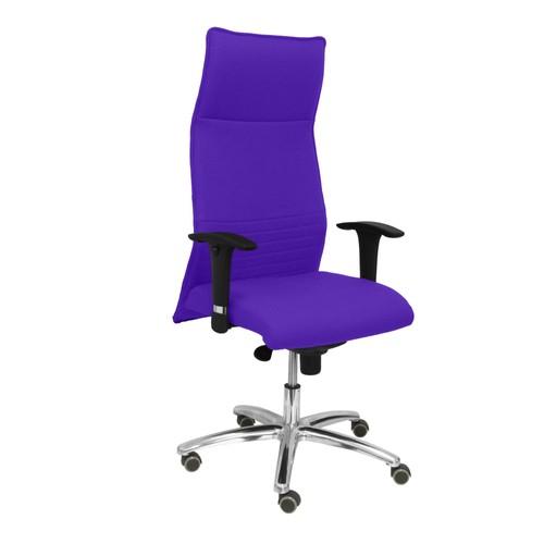 Modele Chaise Bureau Ergonomique Dossier Tissu Couleur Violets