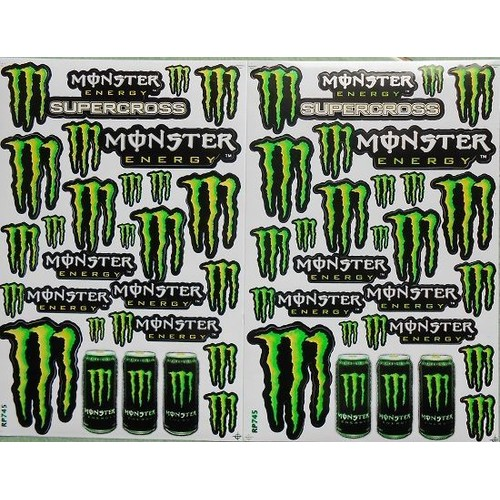 monster energy autocollant
