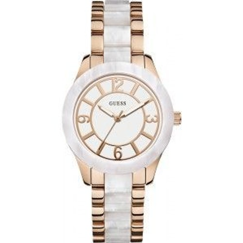 2cc4054f3cb3c montre femme blanc bracelet dore pas cher ou d'occasion sur Rakuten