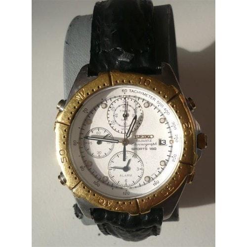 Assez Montre Chronograph Or Massif Et Chrome - Achat et vente YE38