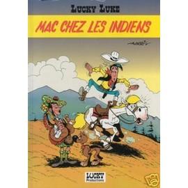 Lucky Luke: Mac Chez Les Indiens. de MORRIS
