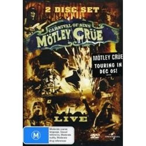 Motley crue carnival of sins dvd zone 2 - Code avantage aroma zone frais de port ...