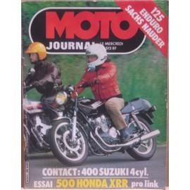 moto journal n 512 125 enduro sacs nauder contact 400 suzuki 4 cylindres essai 500 honda. Black Bedroom Furniture Sets. Home Design Ideas