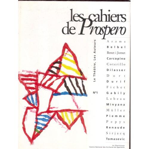 CAHIER DE PROSPERO