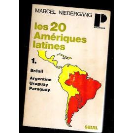Les 20 Am�riques Latines de NIEDERGANG Marcel