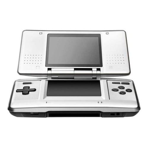 Nintendo ds console de jeu portable argent e pas cher - Console de jeux portable pas cher ...