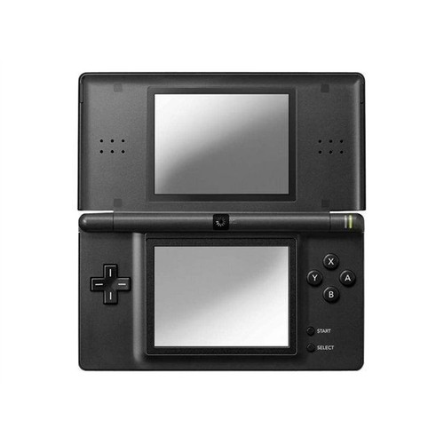 console nintendo ds lite pas cher nintendo ds lite console de jeu portable noir pas cher ds. Black Bedroom Furniture Sets. Home Design Ideas