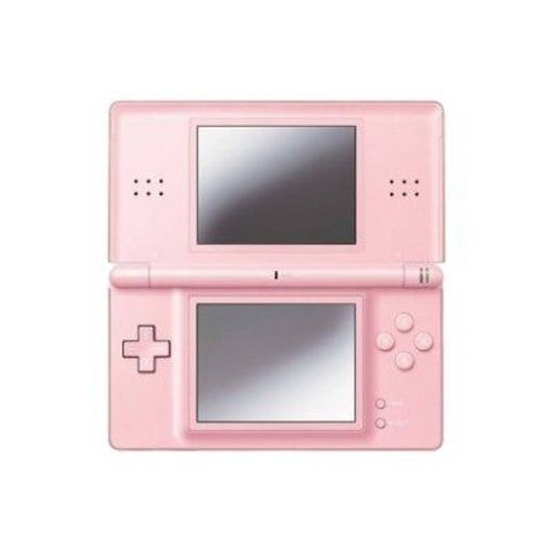 nintendo ds lite console de jeu portable rose corail pas cher. Black Bedroom Furniture Sets. Home Design Ideas