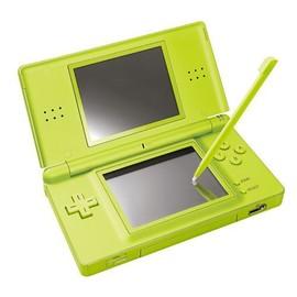 nintendo ds lite console de jeu portable vert pas cher rakuten. Black Bedroom Furniture Sets. Home Design Ideas