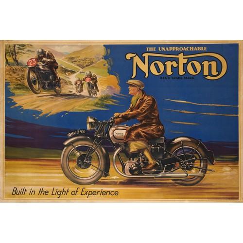 hotrodspirit - boucle de ceinture norton finition brut biker moto anglaise 6877c601239