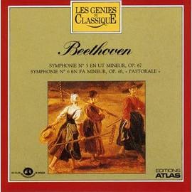 Symphonie N�5 En Ut Mineur, Op 67, Symphonie N�6 En Fa Mineur Op 68, Pastorale (Beethoven) - Orchestre Philharmonique Tch�que