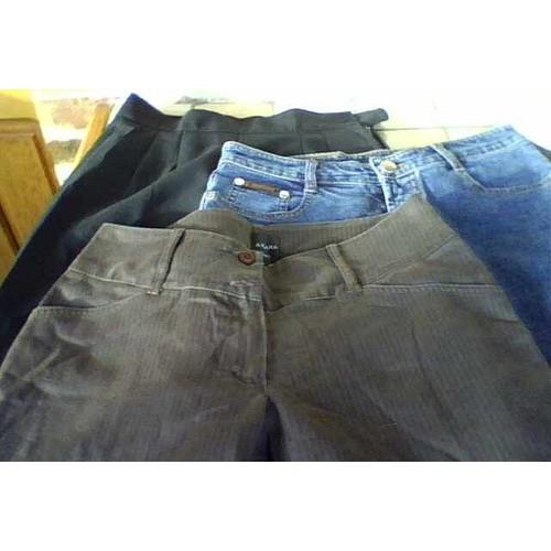 pantalon noir habill�
