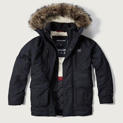 parka abercrombie fitch