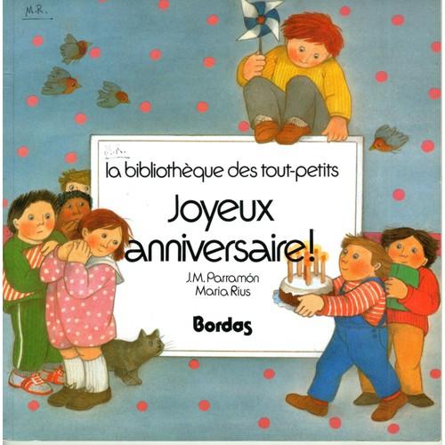 Joyeuses Fetes Tome 2 Joyeux Anniversaire De Parramon Format Album
