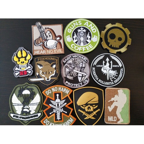 Patch militaire