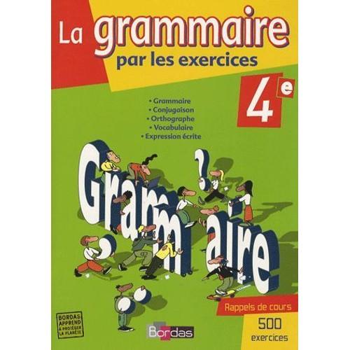 la grammaire par les exercices 4e pdf