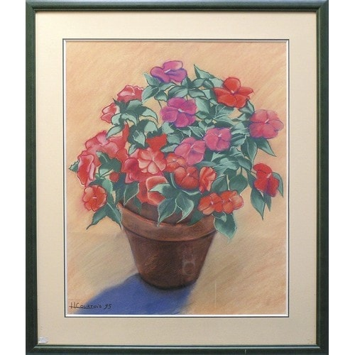 Peinture Pot De Fleur Pas Cher Ou D Occasion Sur Rakuten