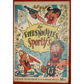 Les cases sportives de René PELLOS et autres séries toutes aussi remarquables - Page 2 Pellos-Rene-Les-Pieds-Nickeles-Sportifs-Livre-ancien-308977566_ML