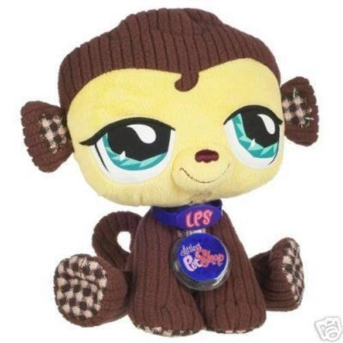 Peluche petshop vip singe achat vente de jouet rakuten - Petshop singe ...