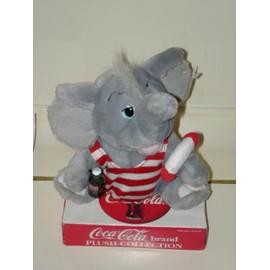 Peluche Coca Cola Elephant Avec Une Bouteille