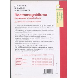 electromagnetisme fondements et applications