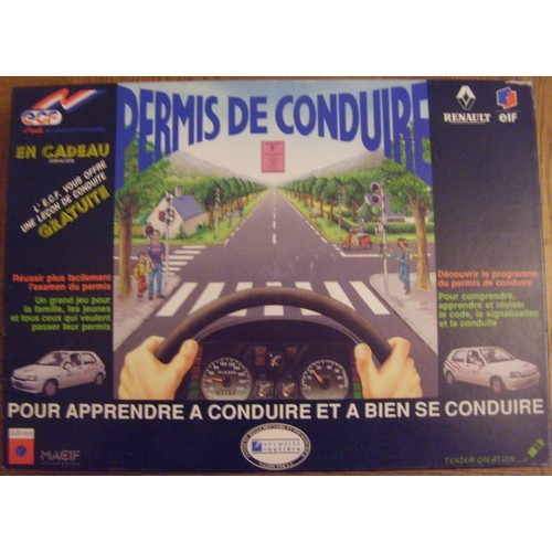 Conduite virtuelle voiture permis