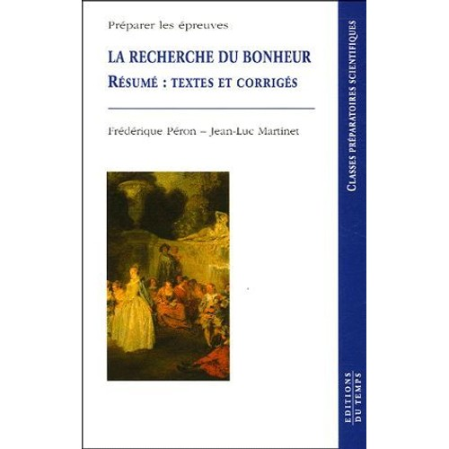 La recherche du bonheur r sum s textes et corrig s de - La chambre des officiers resume du livre ...