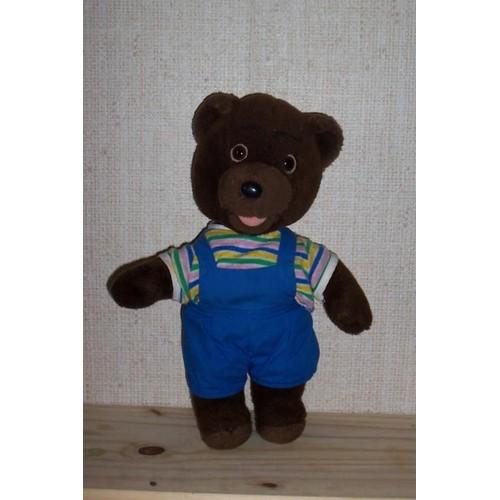 petit ours brun 34 cm achat vente de jouet. Black Bedroom Furniture Sets. Home Design Ideas