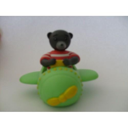 petit ours brun en avion achat vente de jouet. Black Bedroom Furniture Sets. Home Design Ideas