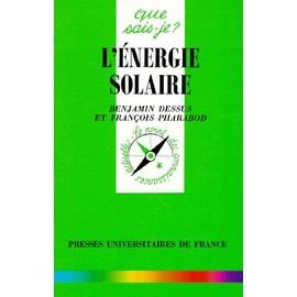 L'�nergie Solaire de Fran�ois Pharabod