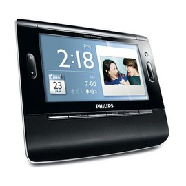 Philips ajl308 radio r veil cadre photo num rique for Ecran photo usb