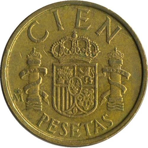 pi�ce cien pesetas