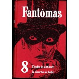 Fantomas Tome 8 de pierre souvestre