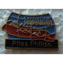 Pin's Philips Expedition Nepal 91