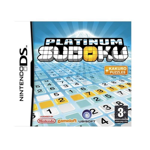 platinum sudoku achat vente de jeu nintendo ds. Black Bedroom Furniture Sets. Home Design Ideas