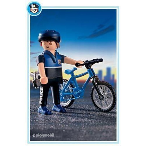 Playmobil 3168 policier v lo achat et vente - Playmobile policier ...