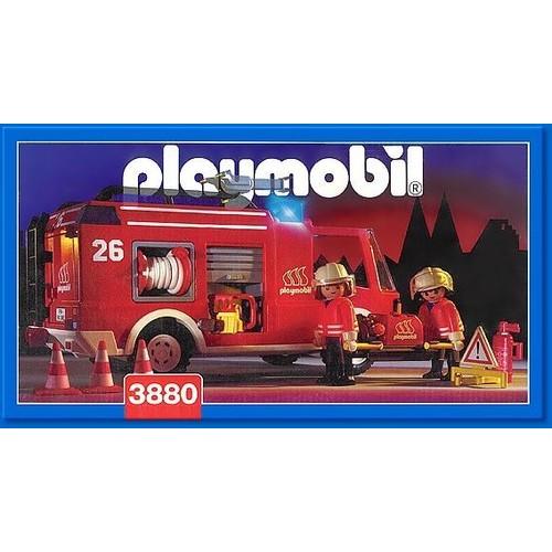 Playmobil 3880 camion de pompiers achat et vente - Playmobil de pompier ...