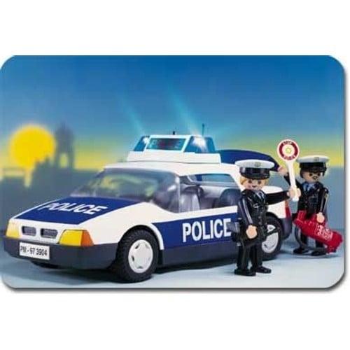 playmobil 3904 policiers voiture de police neuf et d 39 occasion. Black Bedroom Furniture Sets. Home Design Ideas