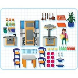 playmobil 3968 cuisini re et cuisine moderne achat et vente. Black Bedroom Furniture Sets. Home Design Ideas