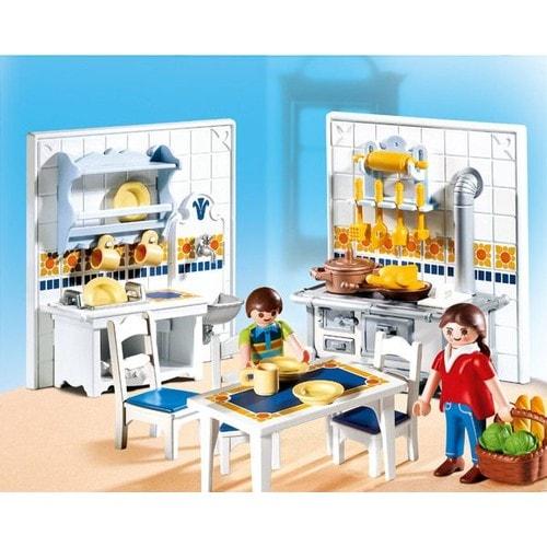 Playmobil 5317 famille et cuisine traditionnelle neuf et for Playmobil cuisine