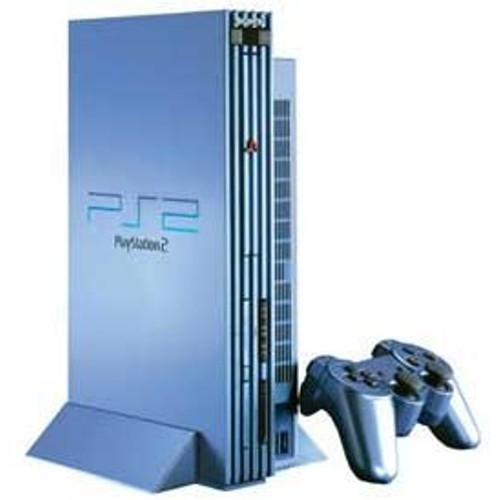 Playstation 2 ps2 aqua blue pas cher priceminister rakuten - Playstation 2 console price ...