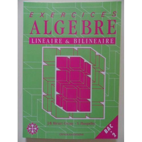 Algèbre de Bac 2 en mathématiques Petite