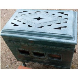 po le a bois salamandre mirus pas cher achat vente priceminister. Black Bedroom Furniture Sets. Home Design Ideas