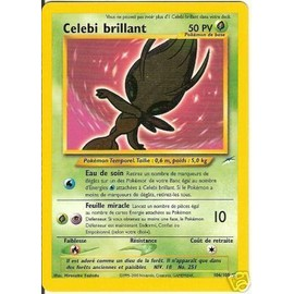 Pokemon - Celebi Brillant 106/105